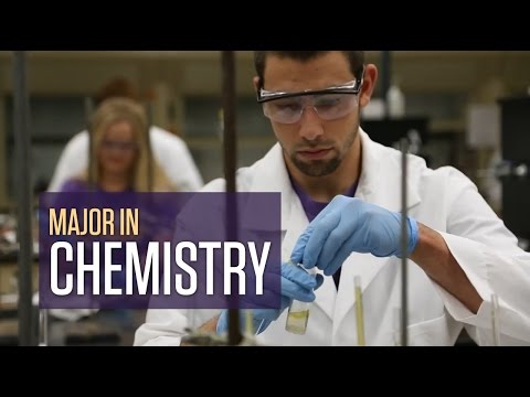Chemistry Major at California Lutheran University