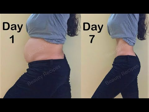 Simple Exercise to Lose Belly Fat in 1 Week – Easy Workout to Lose stomach fat, Get Small tiny waist