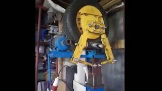Молот механический, колесный