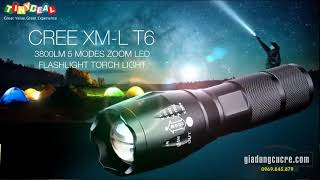 ĐÈN PIN SIÊU SÁNG XML T6
