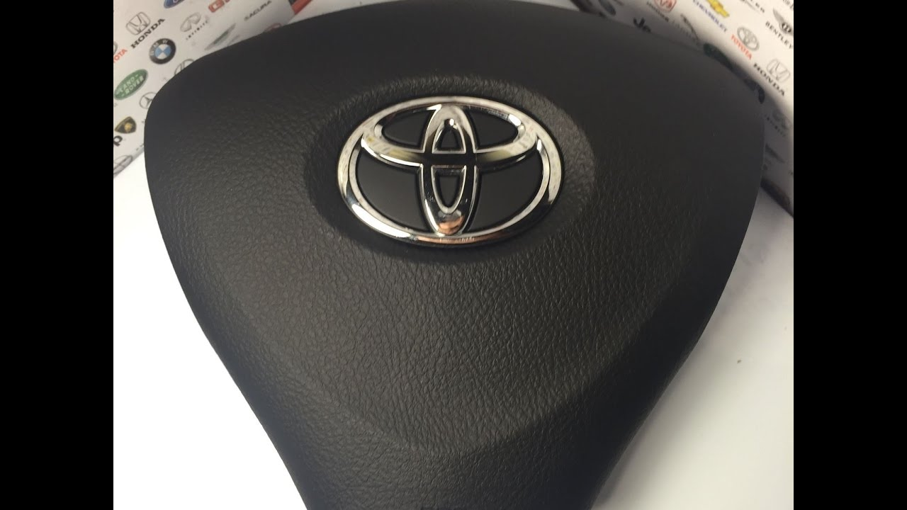 Toyota Camry: If the SRS airbags deploy (inflate)