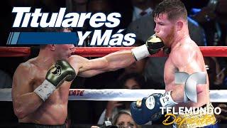 Revancha Saúl Álvarez vs Gennady Golovkin ¿es un hecho?   Titulares y Más   Telemundo Deportes