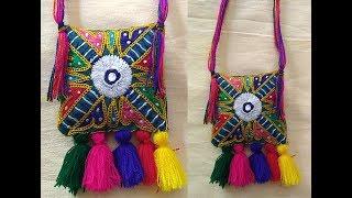 DIY Necklace How to make Navratri Jewellery/Ornaments I Navratri Craft -2