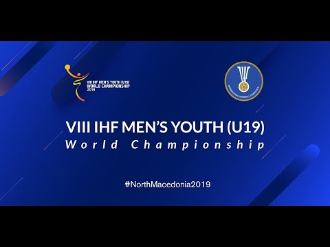 Quarter-final,  France vs Portugal 2019 Men's Youth World Championship