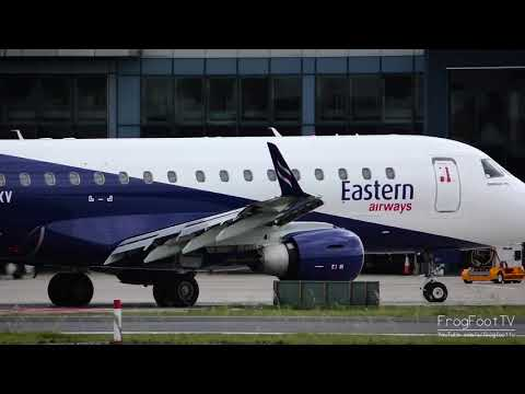 NEW | Eastern Airways | Embraer ERJ-170 at London City Airport
