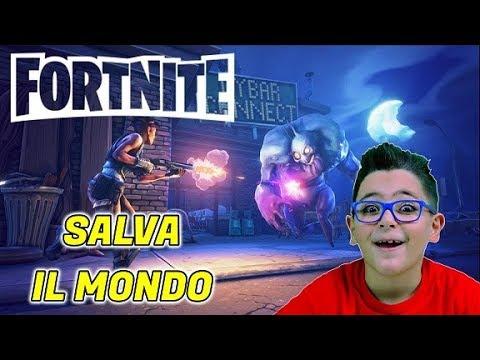 SALVA IL MONDO FORTNITE - Leo Toys