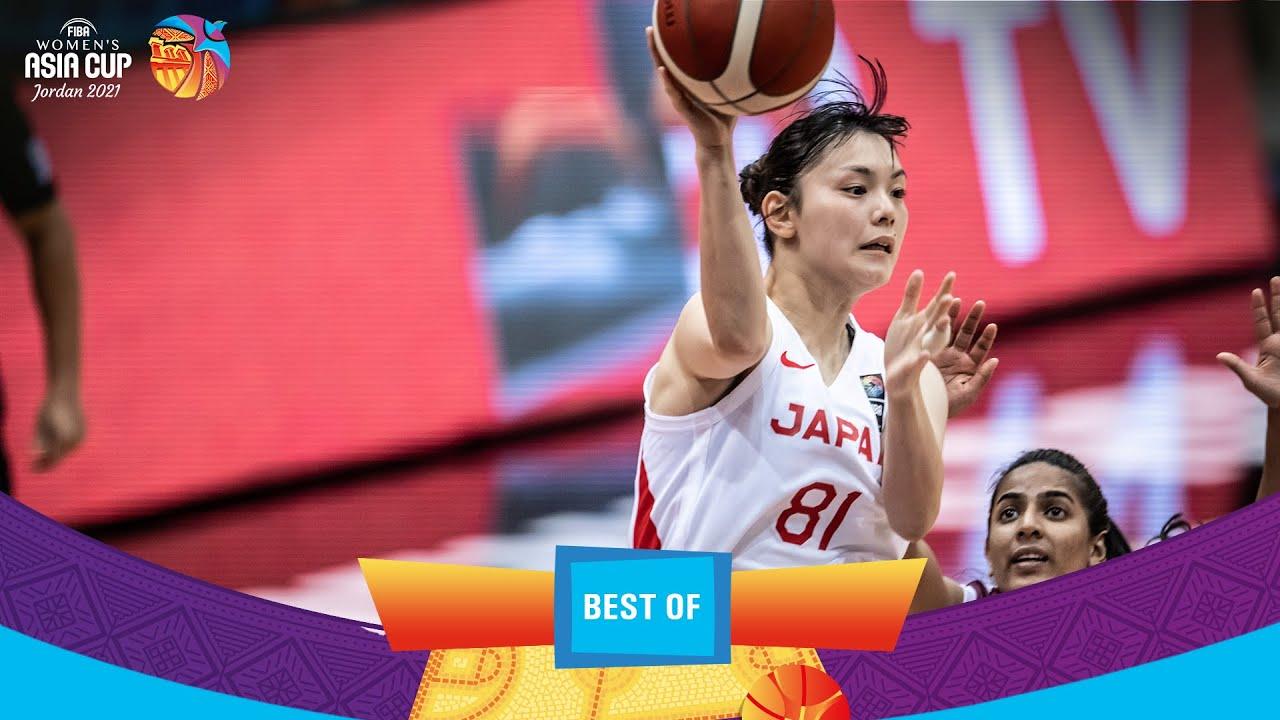 What a way to make a debut! Kiho Miyashita 27 pts   Highlights   FIBA Women's Asia Cup 2021