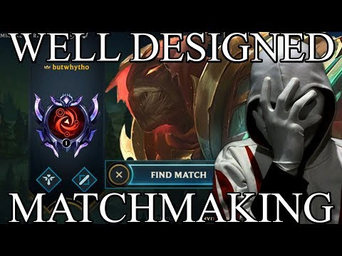 Well Designed Matchmaking from YouTube · Duration:  10 minutes 15 seconds