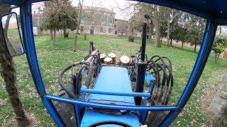 Tractor VLOG #EP 12 - ABBATTIMENTO PINO DA 20 METRI DI ALTEZZA! [GoProPOV]