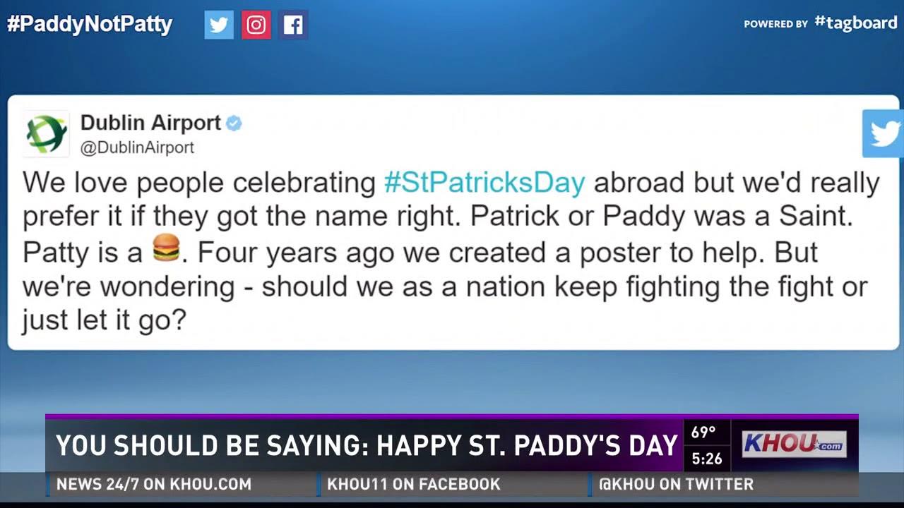 How Do You Abbreviate St Patricks Day