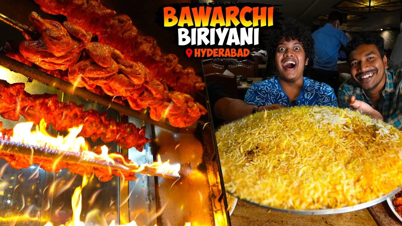 Hyderabadi Jumbo Biriyani in Bawarchi Biriyani - Irfan's View