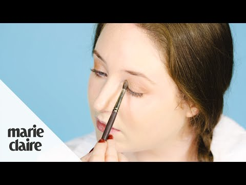 How To Make Your Eyes Look Bigger With Make-Up - Marie Claire Basic Training