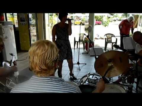 Jam op 5 juli 2015 op muziekcamping les Grebes du Lac