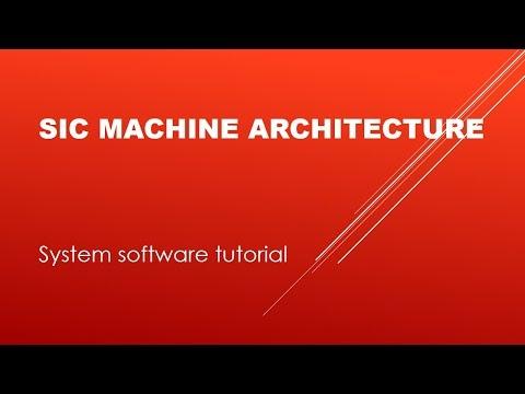 System Software Tutorials | Part 02 - SIC Machine Architecture | By Vikash Mehta