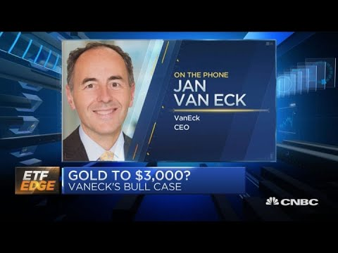 Gold to $3,000? VanEck's CEO on his firm's bull case for the metal