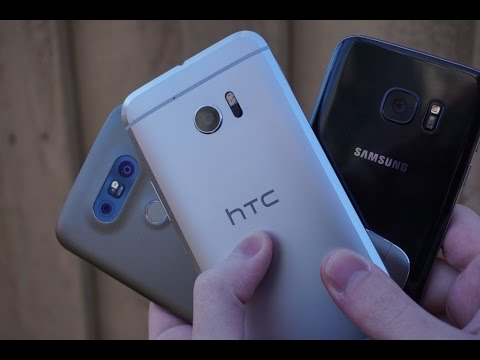 Rundown: LG G5 vs HTC 10 vs Samsung Galaxy S7
