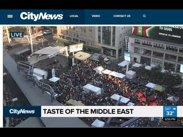 Taste of the Middle East Festival Toronto 2019 Promo