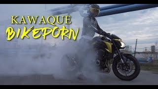 Kawaque's Motorrad wird foliert  !!  | Folienprinz