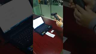 SUNLUX XL 9309 wireless barcode scanner working mode