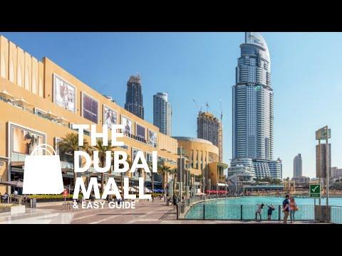THE DUBAI MALL easy guide – Fashion avenue, shops, Dubai Aquarium, Ice rink, apple store