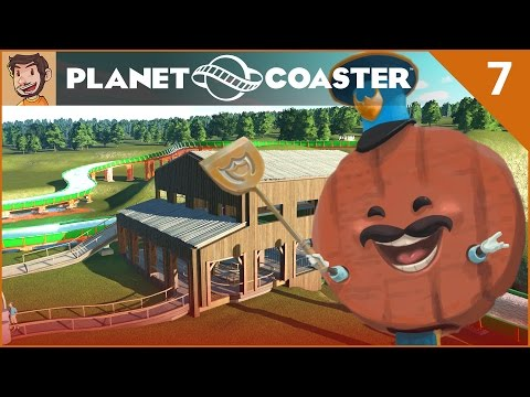 Let's Play Planet Coaster - Hard Mode - Part 7