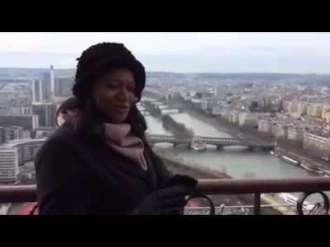 Ana Paula David em Paris