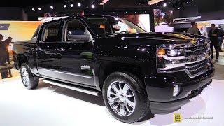 2017 Chevrolet Silverado With High Desert Package  Exterior And Interior Walkaround  2016 LA Auto Sh