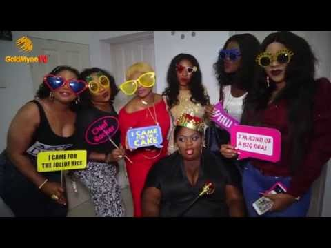 IYABO OJO, DENRELE, SOTAYO AND OTHERS ATTEND ENIOLA BADMUS' BIRTHDAY PARTY