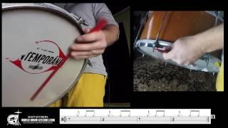 Baixar Zabumba Forró Basics and Technique Lesson 1 - World Drum Lessons