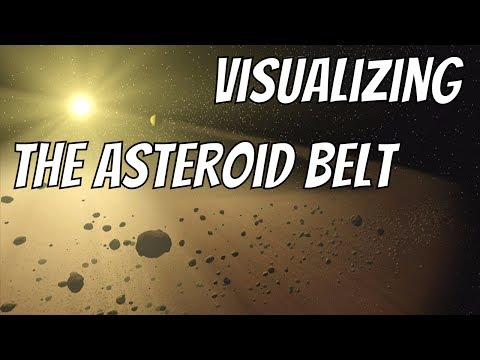 Visualizing Asteroids - How Many Are There In The Asteroid Belt?