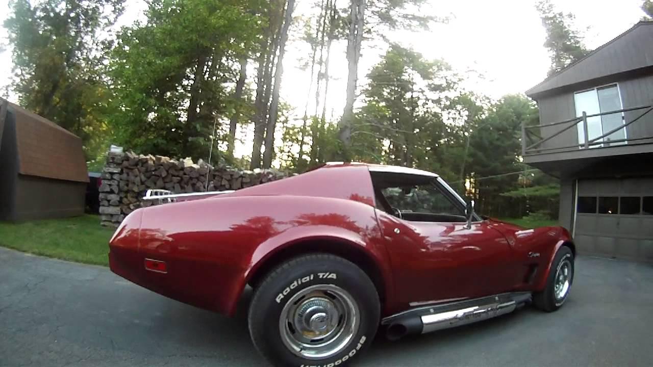 1975 corvette stingray 350 L48,4 speed, hooker headers side pipes ...