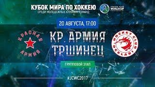 Junior Club World Cup 2017. Krasnaya Armiya - Trinec (U20)