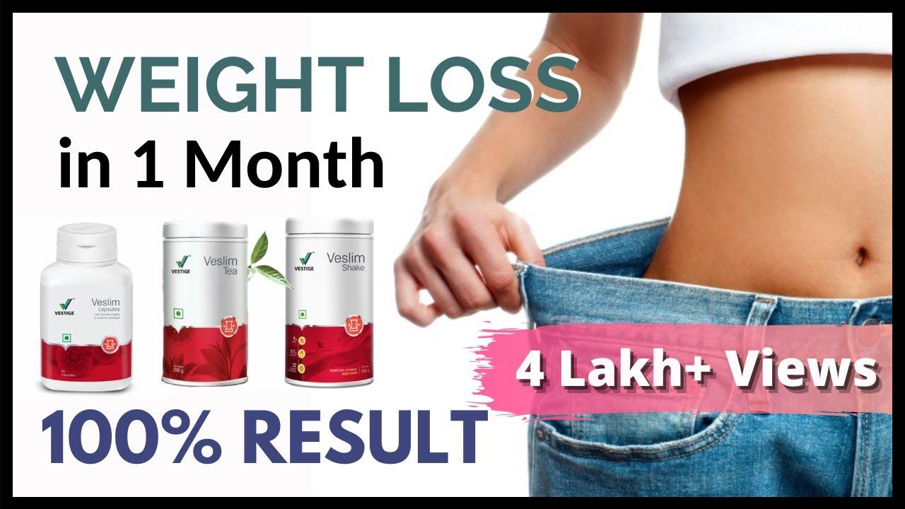 VESTIGE Veslim Shake | Veslim Capsules | Veslim Tea ( Weight Loss in 1 month )