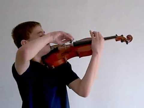A.Kchachaturyan  - Sabre Dance (violin, piano)