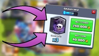 Clash Royale - LEVEL 4 GRAVEYARD! Big Upgrade