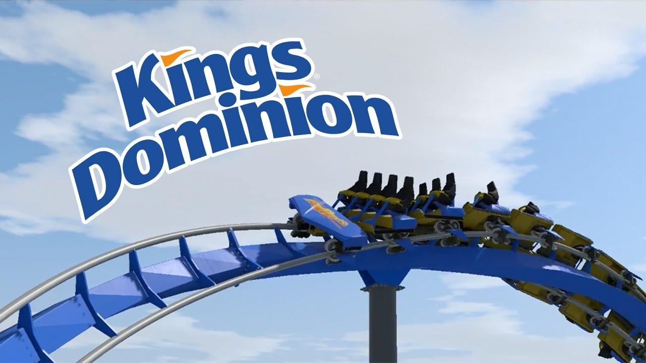 KINGS DOMINION New B&M HYPER COASTER Layout Prediction~NoLimits 2
