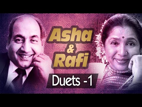 Best of Mohd Rafi & Asha Bhosle Duets (HD) -| VIDEO JUKEBOX1 | Evergreen Bollywood Song Collection