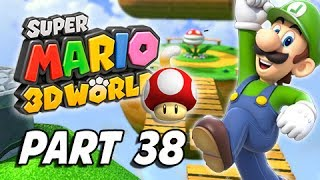 Super Mario 3D World Walkthrough Part 38 - Back To Hands-On Hall (100% Green Stars & Stamps)