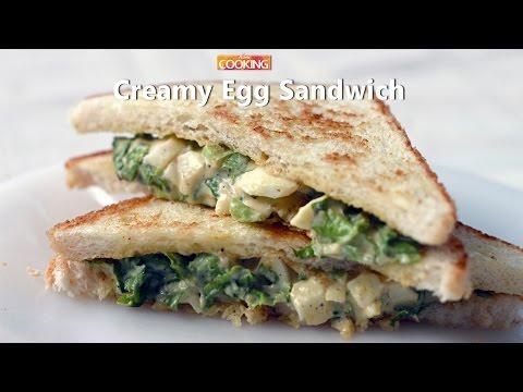 Creamy Egg Sandwich  Ventuno Home Cooking