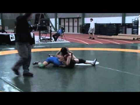 2009 Senior National Championships: 55 kg Lesley McCallum vs. Adrienne Zuck