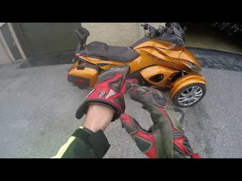 Can Am Spyder ST-S Test Drive Review