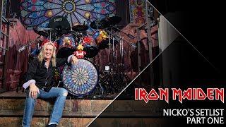 Iron Maiden - Nicko's Setlist, Part 1