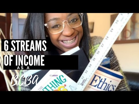 How I Earn 6 Streams Of Income As A BCBA