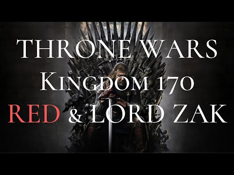 Clash of Kings: Throne wars of 170 kd! INT Alliance Lord Zak with RED Alliance (2019)