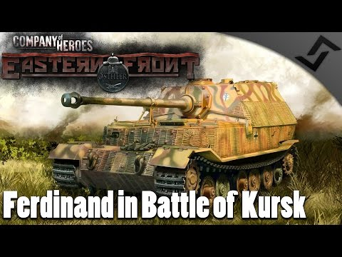 Ferdinand in Battle of Kursk - Company of Heroes: Eastern Front Mod