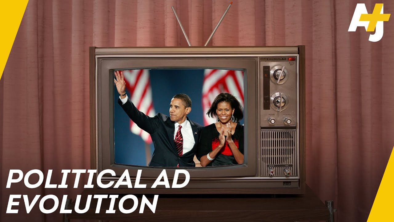 how eisenhower and obama changed political advertising aj youtube