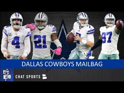 best authentic 215ba ffab3 Cowboys vs. Texans, Players To Watch, Injuries, Taco Charlton Future,  Cooper Rush | Mailbag
