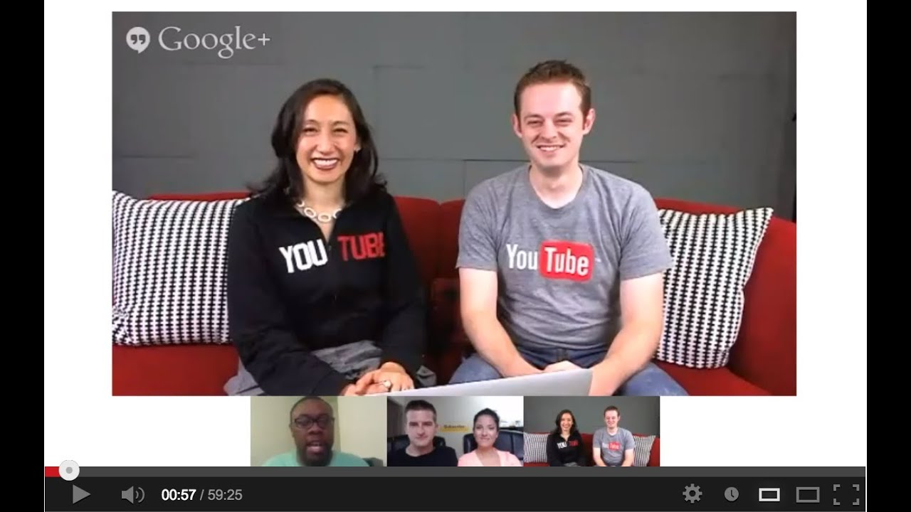 YouTube Creator Academy - Archived Hangout #1 - YouTube Creator Academy - Archived Hangout #1