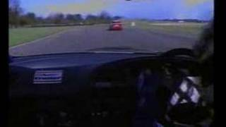 ONBOARD Paul Radisich at Thruxton 1994