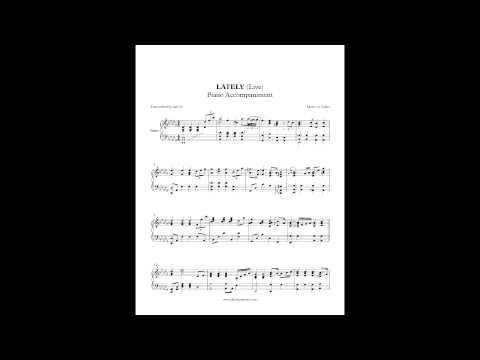 Lately - Jodeci (Piano Accompaniment) by Aldy Santos